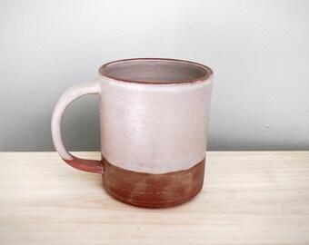 Simple handmade ceramic mug by Mud to Life