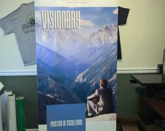 "Retractable Banner, 33.5"" x 78.5"" Banner, Pop Up Banner, Trade Show Banner, Booth Banner, Seminar Banners, Advertisment Banners"