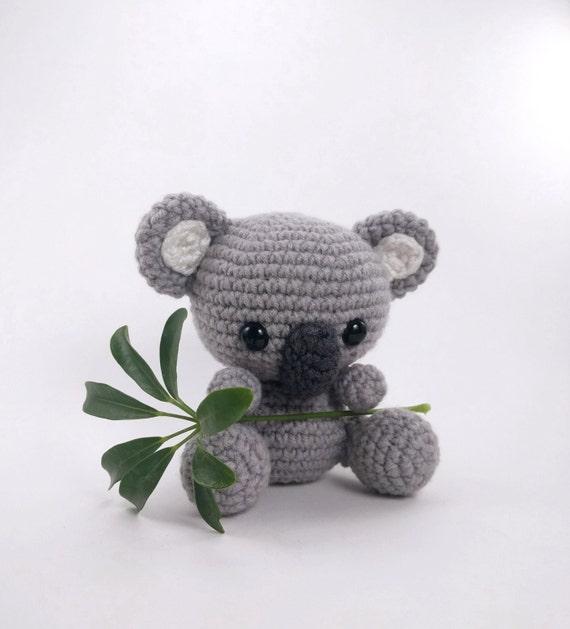PATTERN: Crochet koala pattern amigurumi koala pattern