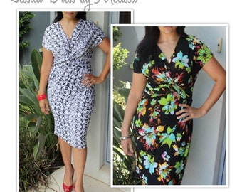 Jessica Dress - Sizes 16, 18, 20 - PDF dress sewing pattern for printing at home by Style Arc - Instant Download - Sewing Project