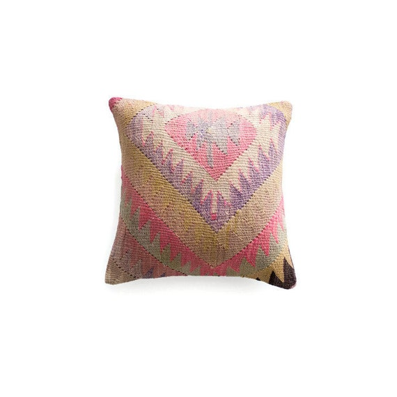 Decorative Pillows Kilim : kilim pillow cover tribal throw pillow boho pillow turkish