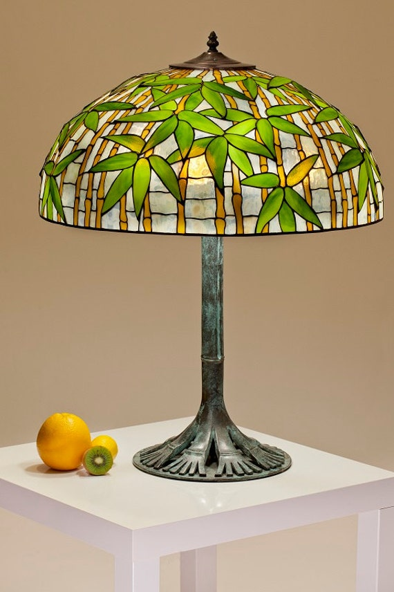 Medium sized Bamboo lamp