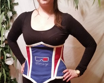 Allons-y Doctor Who Corset