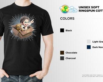 Han Solo Chewbacca Shirt | Star Wars Shirt | PREMIUM QUALITY | Lightspeed | Chewy | Cute | Geek Clothing | T-Shirt | Geek Tee | Geek Gift