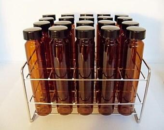 Test tube spice rack etsy for Glass test tubes for crafts