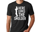 "Disney Tangled ""Here comes the Smolder"" // Men's Disney Shirt // Plus Size Disney Shirts // Disney's Rapunzel Shirt, Disney Vacation Shirt"