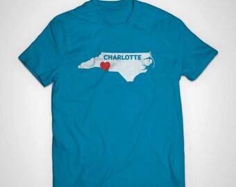 Charlotte Love American Apparel T-Shirt