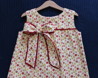 girls dress size 2T or 2 cotton