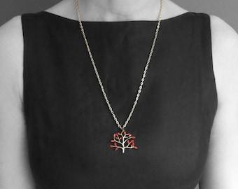 Game of Thrones Jewelry Heart Tree Pendant Weirwood Tree Thrones jewelry