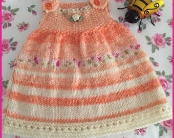 Baby Pinafore Dress, Newborn Baby