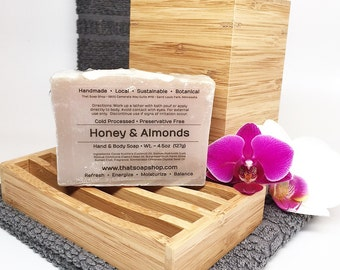 Honey and Almonds - Shea Butter & Jojoba Soap