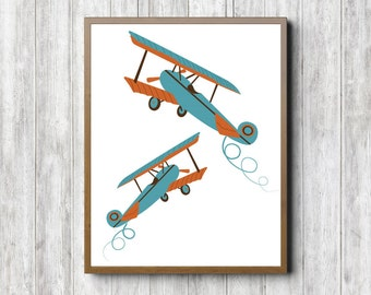 Airplane Wall Decor airplane wall decor | etsy