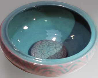 "Bowl ""flower of life"""