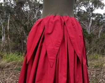 SALE Flower fairy dress // waratah // Australian native flower