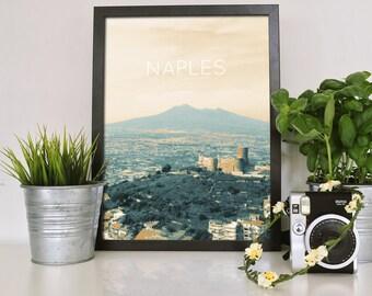Naples, Italy Poster 11x17 18x24 24x36