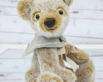 Faux Fur Teddy Bear - handmade artist bear