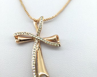 Cross Necklace - Christian Cross Necklace - Religious Necklace - High Quality - Perfect Gift