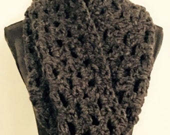 Crocheted Cozy Cowl