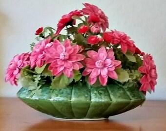 Vintage Flower Arrangement Retro Plastic Original Made in USA