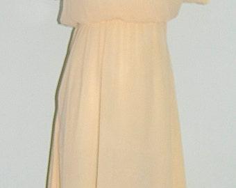 Vintage 1970's Summer Dress