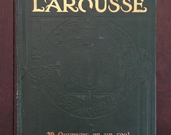 Memento Larousse Encyclopédique & illustré, 1916 French encyclopedia