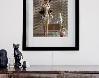Artistic print - For Barbie lovers and collectors - model #001