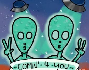 Comin' 4 You || Sticker