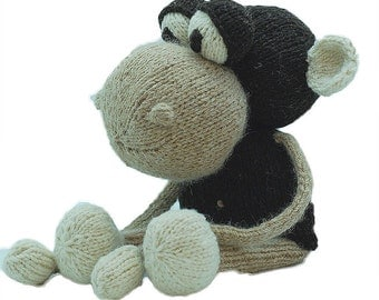 Knitting Pattern Anthony the Monkey Pdf INSTANT DOWNLOAD