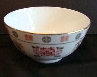 Decorative Chinese rice bowl