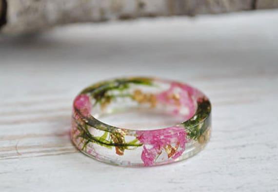 Resin Rose Ring