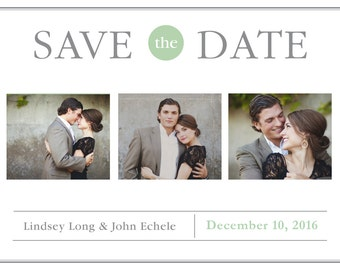 Simple Save the Date/Invitation