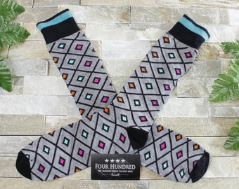 CLEARANCE 50% OFF!! Mens socks. Mens dress socks. Socks. Groomsmen socks. Funny mens socks. Fun socks. Colorful socks. Cool socks.