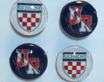 University of Richmond set of 4 magnets