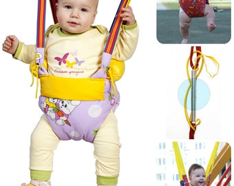 Baby Jumper with rolls, Swing, Trapeze, Bungee, Exerciser