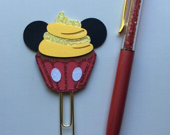 Boy mouse cupcake paperclip