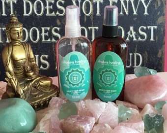 Heart Chakra Spray w/ Reiki Perfect Mother's Day Gift