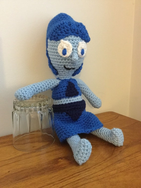 Steven Universe Amigurumi Pattern : Made to Order: Crochet Amigurumi Blue Girl Humanoid Ocean Gem