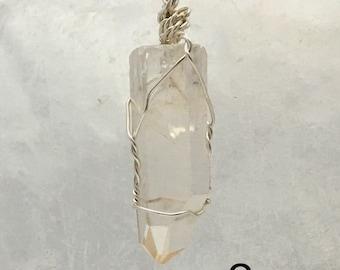 Lemurian Seed Crystal Pendant   Healing Crystals
