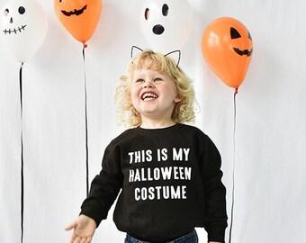 Halloween Costume Halloween Children's Sweatshirt - Kids Halloween Costume - Halloween Kids - Halloween Jumpers - Halloween  [SWTCH-HW-002]