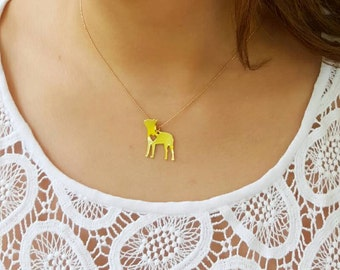 BOSTON TERRIER NECKLACE ! Boston Terrier Lovers, Gold Necklace, Necklace, DogLovers