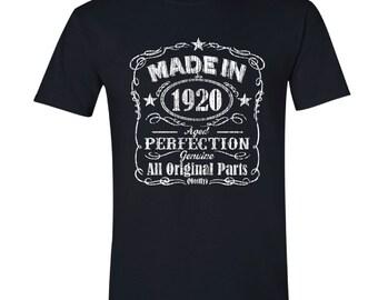 1920 birthday, 1920 shirt, 1920 T-Shirt, 1920