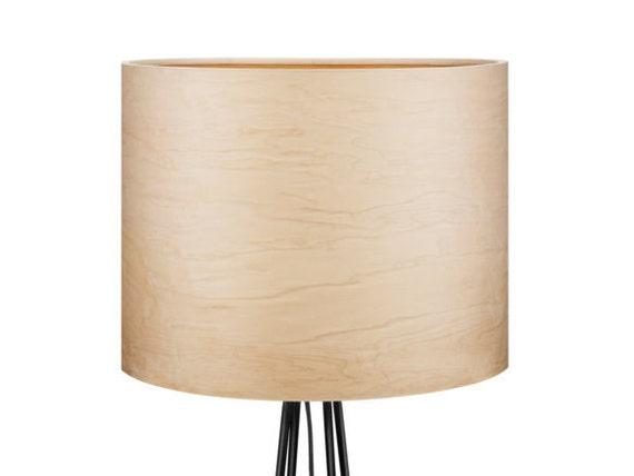 Stock Lampe natürliche Holz-Stehleuchten von Sponndesign auf Etsy
