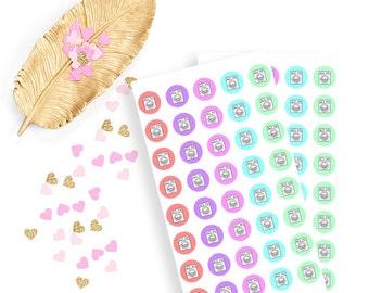 washer sticker, life planner sticker for kikki k, filofax or erin condren