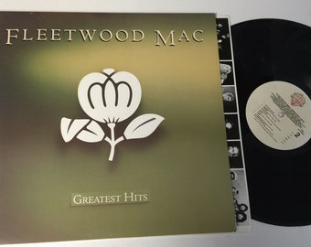 Fleetwood Mac Greatest Hits LP Record VInyl - Great Shape - Free Shipping on All Orders!