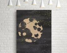 Geometric print, abstract print, nordic design, minimalist print, circle print, wall art, scandinavian art, modern art, contemporary art