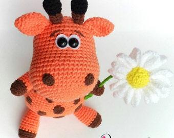 "PATTERN ""Giraffe"" (Crcohet amigurumi)"