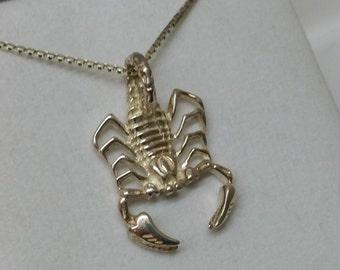 Charm 925 Silver Zodiac Scorpio SK777
