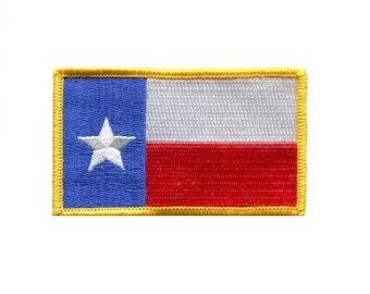 Texas Flag Patch