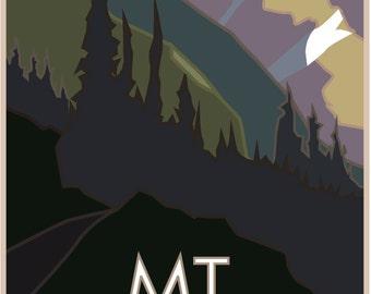 Mt. Belford 14er Poster