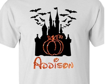 Disney Halloween Shirt Personalized